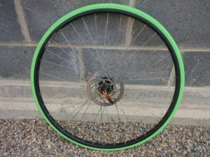 Melon Green Tannus Puncture Proof Tyres
